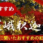 京都通に聞いたおすすめの紅葉名所《嵯峨釈迦堂》