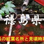徳島県の気になる紅葉名所と見頃時期は?