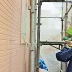 ラピス主材塗装工事|外壁塗装工事9~12日目