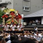博多祇園山笠!一番山笠の台上がりに上がれるのは奇跡に近い