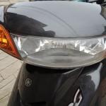 ヤマハジョグ スクーターバイクのヘッドランプの交換方法と費用